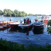Einsatzboote der DLRG Berlin