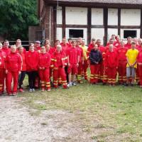 Viele Helfer der DLRG kamen an diesem Freitag zum Einsatz