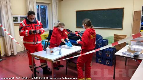 Vorbereitungen in Gerolzhofen
