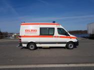 Notfallkrankenwagen KTW-B der DLRG für den Betreuungsplatz 500