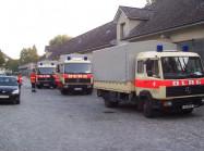 Fahrzeuge des Katastrophenschutzes