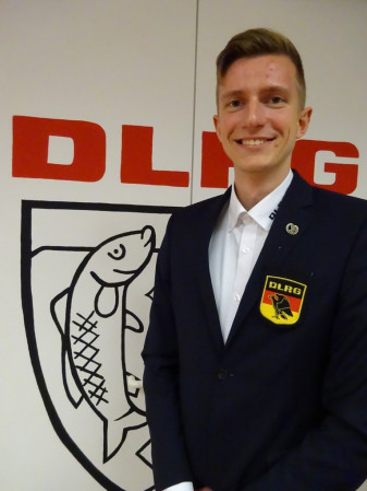 Vorsitzender der Jugend: Adrian Grewe