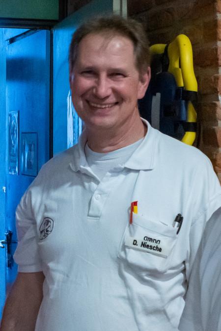 Referent Erste Hilfe/ Sanitätausbildung - Ansprechperson Bezirkssanitätsdienst: Detlef Niesche