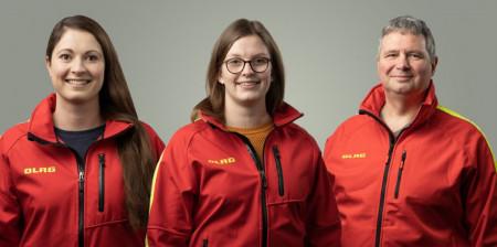 Schwimmausbildung: Sarah Mischer, Kim Kossack, Dirk Ackmann