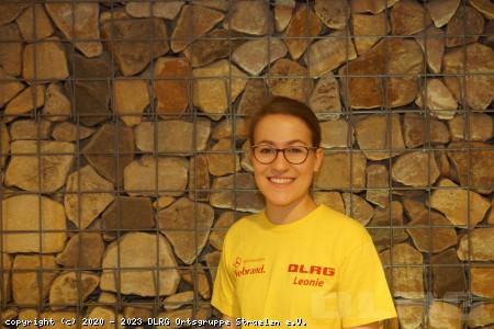 Jugendvorstandsvorsitzende: Leonie Raemakers