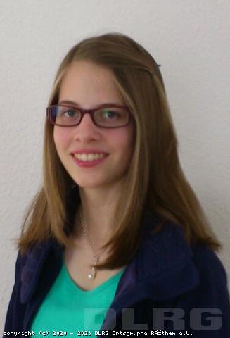 Stellvertretende Leiterin der Jugend: Alina Sander (Studentin)