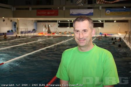 Ausbilder und Prüfer Rettungsschwimmen: Ralf Bauer