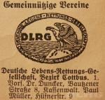 Auszug aus dem Cottbuser Adressbuch von 1929 (Stadtarchiv Cottbus)
